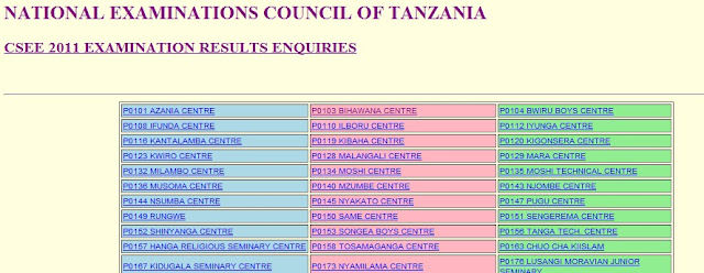 national examinations council of tanzania